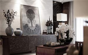 艺术画现代简约背景墙