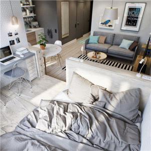 一居室小户型大空间