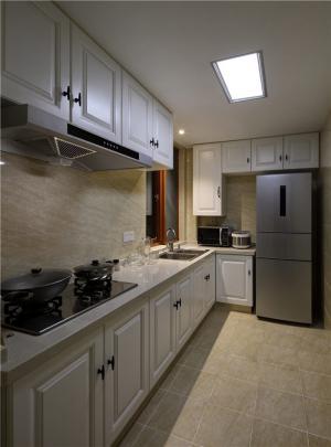 小厨房橱柜实景图