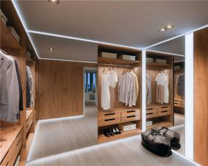 简易衣帽间整体衣柜