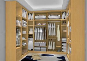 衣帽间整体衣柜样板间