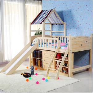 小户型儿童卧室上下床装修