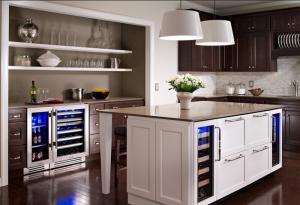 厨房酒柜装修效果图素材哪