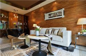 小户型家庭装修客厅沙发摆放