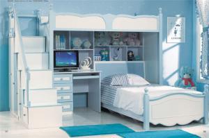 地中海组合床儿童家具上下床