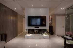 现代风格电视背景墙装修图