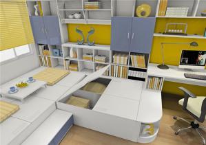 榻榻米卧室设计内部组合图