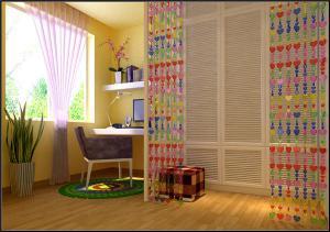 儿童书房装修设计家具摆放
