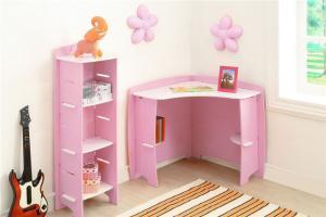 儿童房家装样板间转角书桌