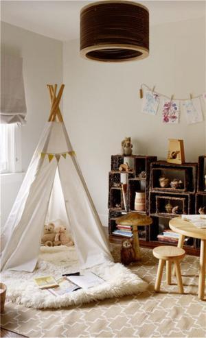 儿童房装修实例实拍