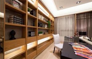 现代两居室日式书房
