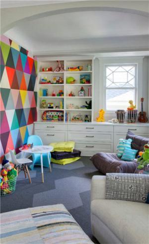 儿童房家具实拍一角