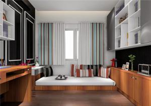 小房间榻榻米3D效果图