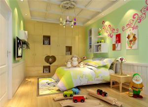 10平米儿童房设计背景墙