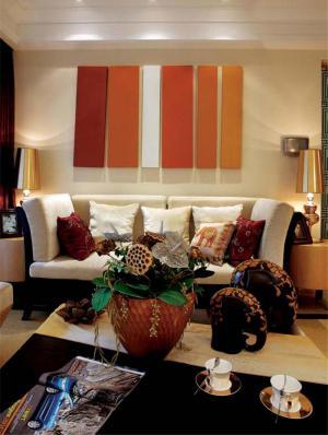 小清新现代客厅家具