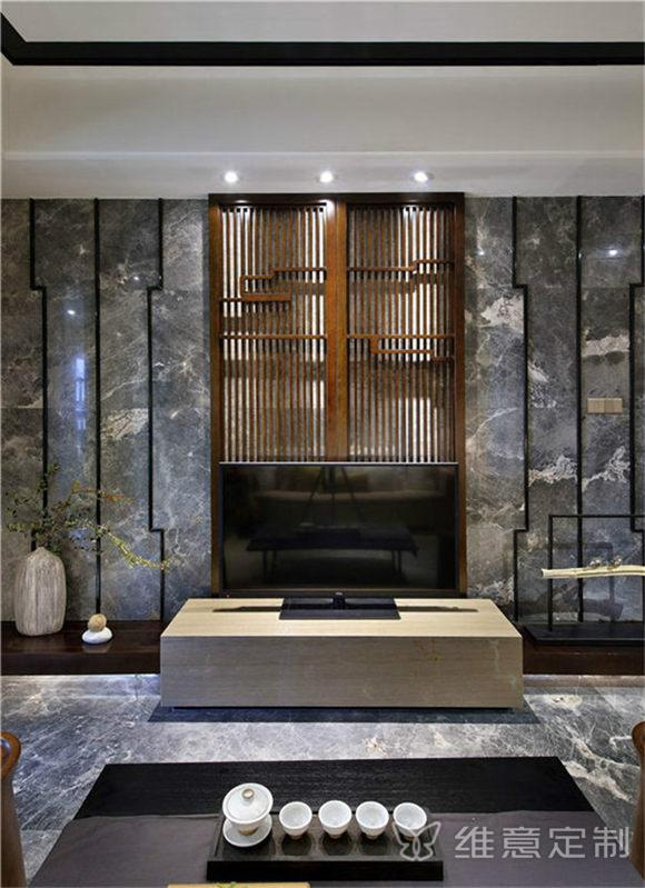中式电视墙装修效果图大全与价格