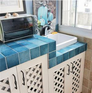 阳台改厨房效果图创意橱柜
