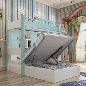 家居上下床多功能储物组合