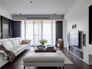 纯白色设计现代简约背景墙