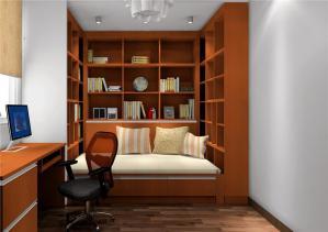 书房榻榻米整体装修素材