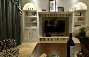 爆款简单大气的电视背景墙
