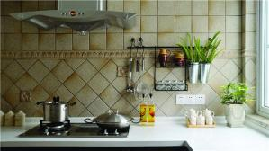 整体厨房橱柜灶台设计
