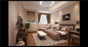 欧式飘窗卧室设计