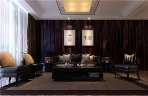 公寓客厅沙发布局