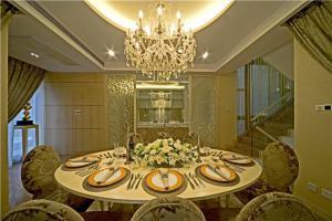 欧式餐桌餐椅装饰