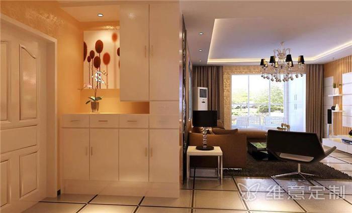 欧式奢华墙体装饰柜
