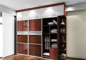 温馨新中式衣柜