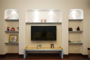 新古典白色电视柜
