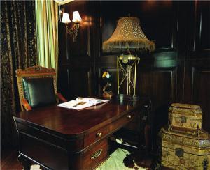 欧式书房装修效果图欧式书桌图