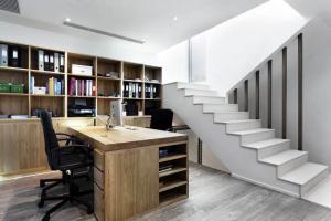 家庭书房装修效果图储物书柜