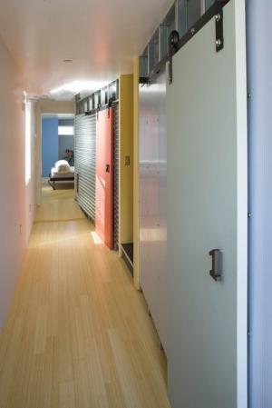 走廊隐形门装修效果图大全