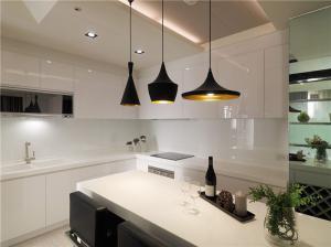 厨房整体橱柜吊顶搭配