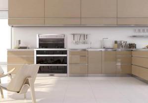 不锈钢厨房橱柜欣赏图