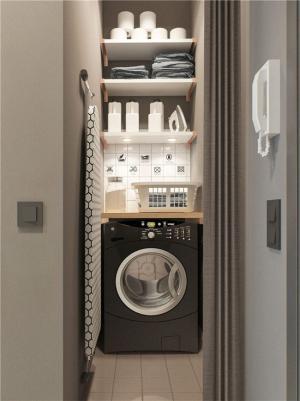 30平方小户型装修洗衣机