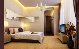 简易卧室飘窗设计