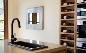厨房酒柜装修效果图空间尺