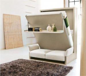 隐形床次卧与书房完美结合