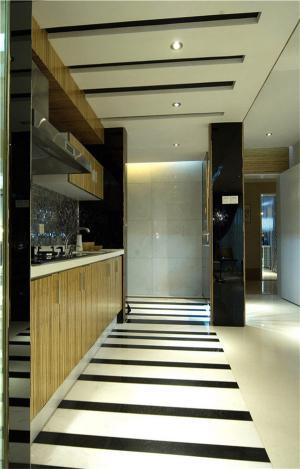 公寓开放式卧室橱柜设计