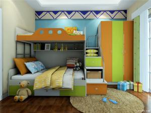 维意儿童房设计上下床