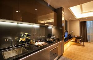 公寓不锈钢厨房橱柜