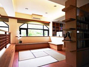 日式书房飘窗设计