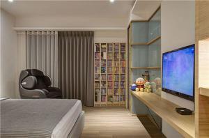 卧室收纳书柜