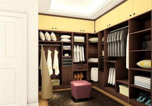 简约美式卧室衣柜
