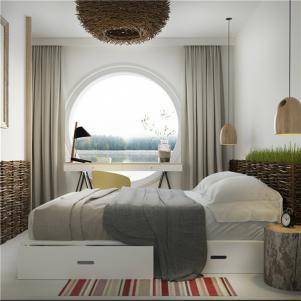 35平小户型装修卧室家具