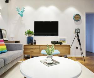 40小户型装修简易电视柜