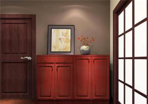 温馨红木鞋柜